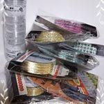 セリア(100均)購入品♪大量キラキラテープ&使える連結ケース